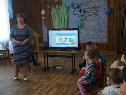 Приветствует участников и гостей мероприятия старший воспитатель Харитоненко Ольга Юрьевна