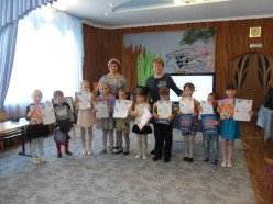 Победителем конкурса стала  Хан Лиза - старшая группа Сафиулина Арина - средняя группа